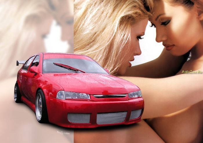 sexy girl cars