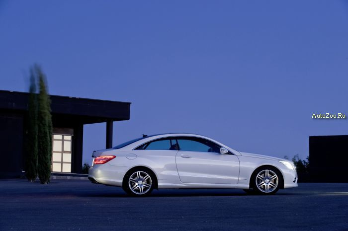 mercedes e coupe 2010