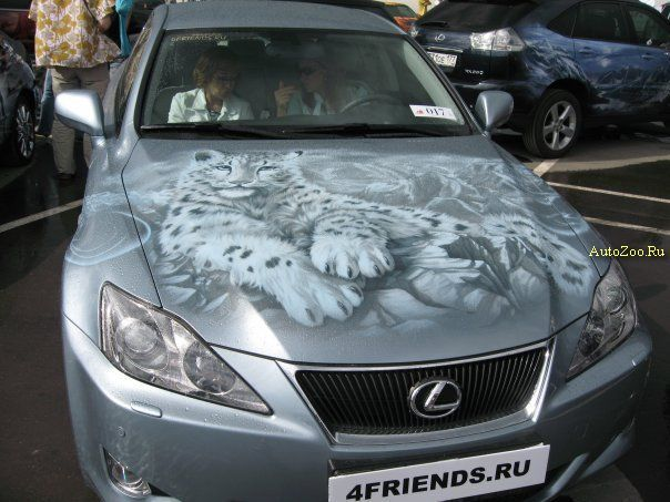graffiti on cars