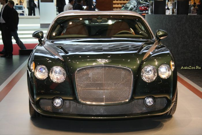 bentley zagato gtz continental