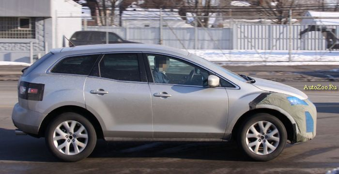 mazda cx7 facelift