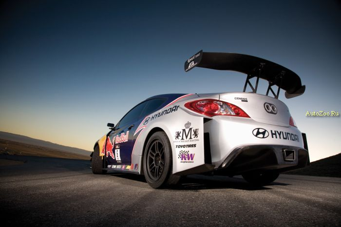 red bull hyundai genesis coupe