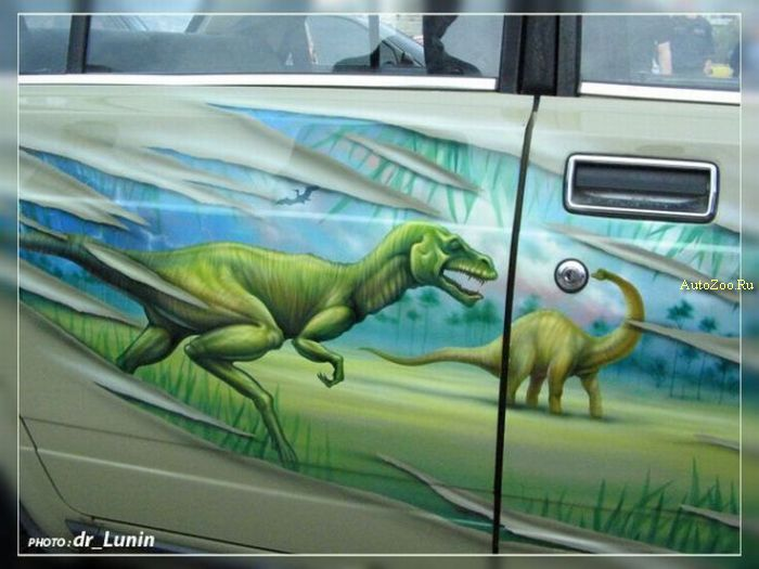 graffity on cars