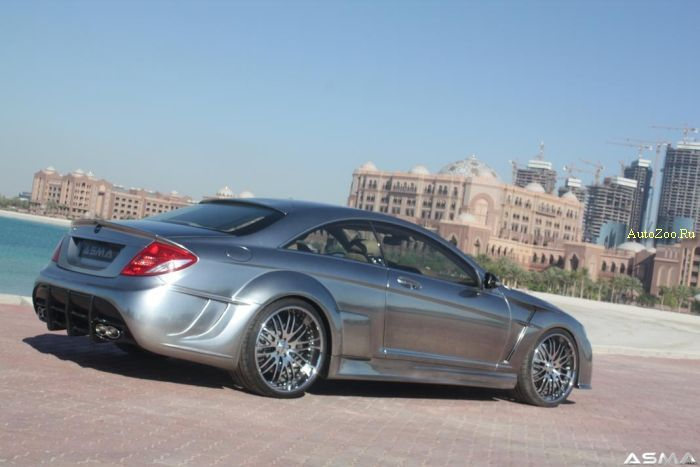 asma phantasma chrome cl65 mercedes
