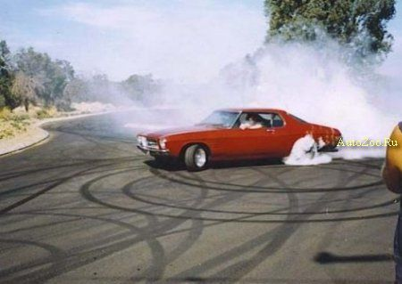 burn out tyre