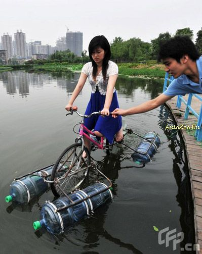 swimming bike