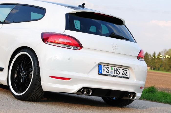 vw scirocco coupe hs motorsport