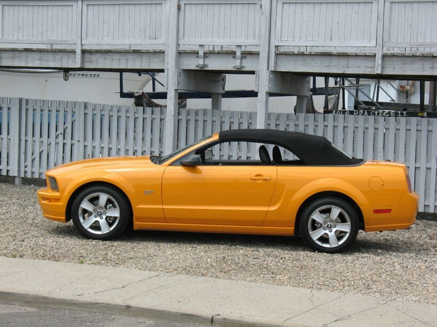 2007 Ford Mustang GT кабрио