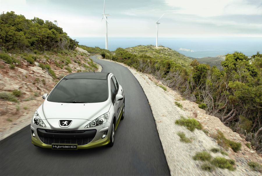 Peugeot 308 Hybride HDi Concept