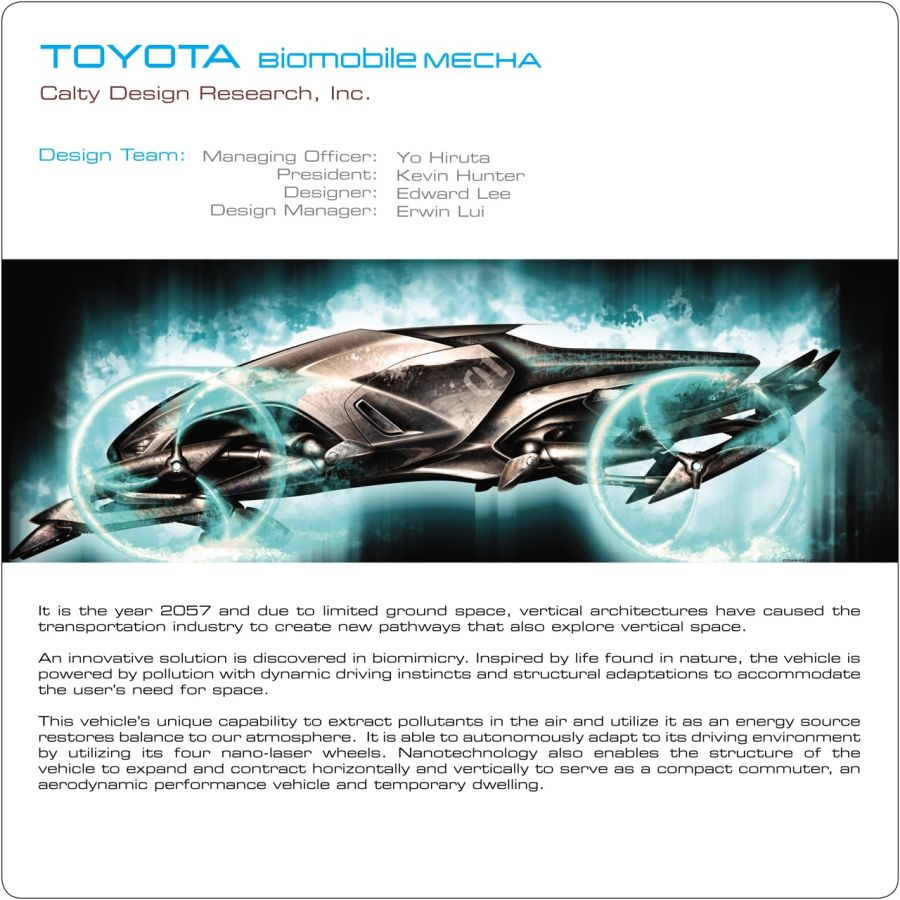 2057 Toyota Biomobile