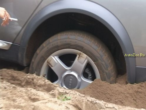 Audi Allroad Stuck