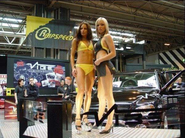 Girls from Autoshows