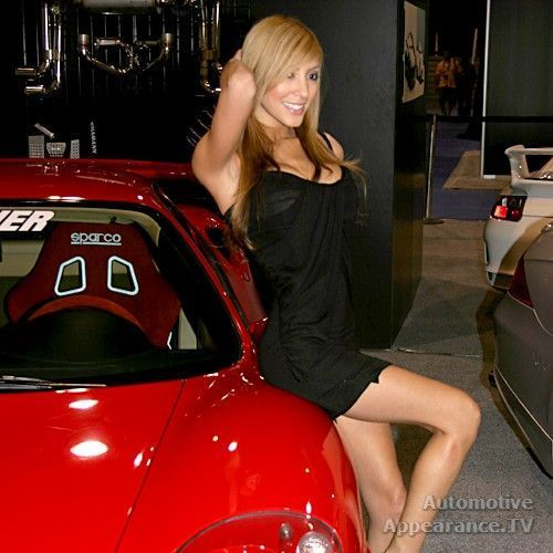 Sexy Girls from Autoshows