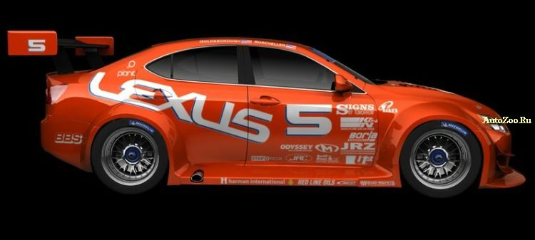 Lexus IS-F Racer