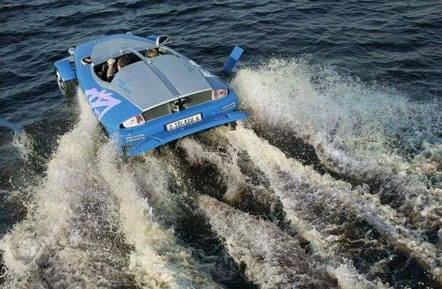 Swimming Car