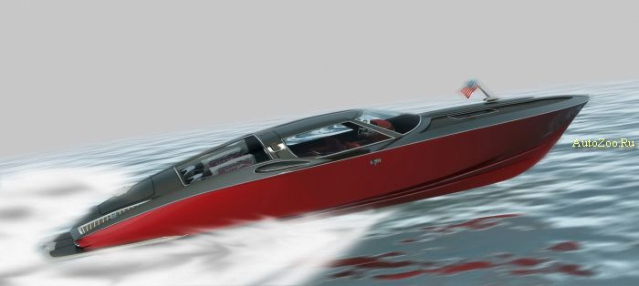 Chevrolet Corvette Boat Design