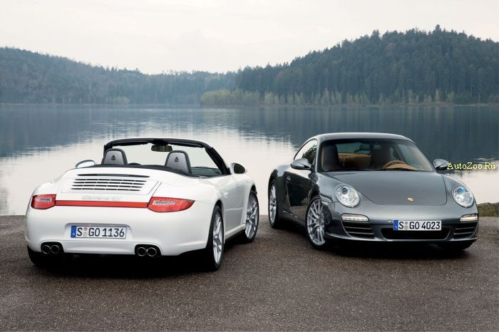 2009 Porsche 911 Carrera 4 and Carrera 4S