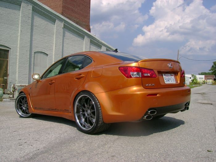 artisan lexus is f