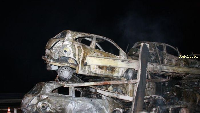 ford ka burned