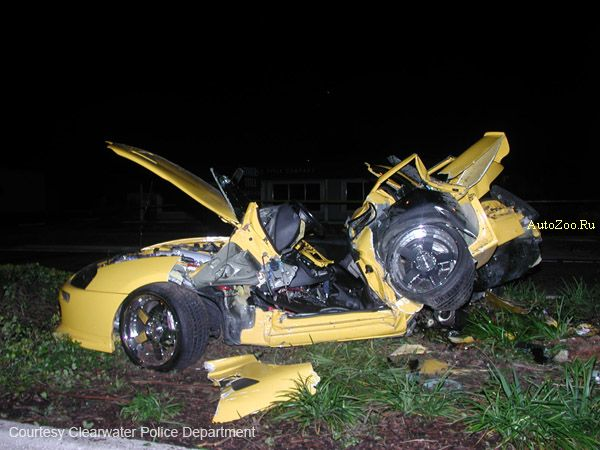 Nick Hogan Toyota Supra serious crash