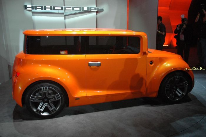Scion Hako Coupe Concept Live