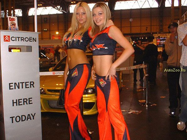 Hot Girls From Autoshows
