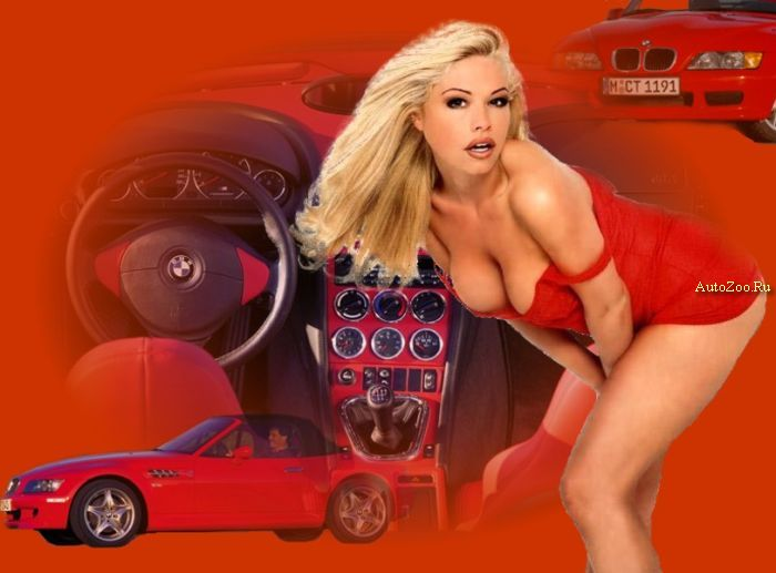 sexy girls and cars