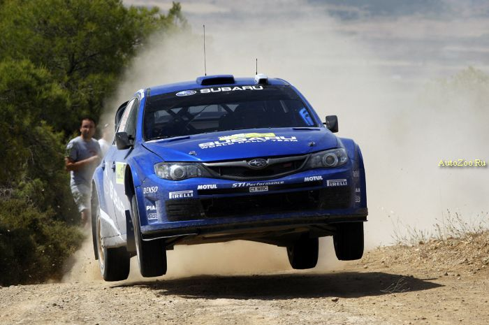 greece rally debut subaru wrc