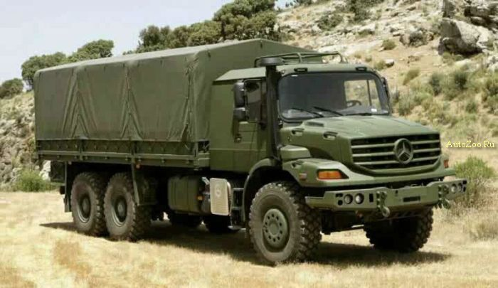 mercedes benz zetros off road