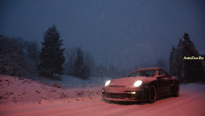 snow exotic cars