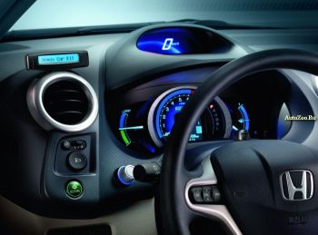 honda insight hybrid interior