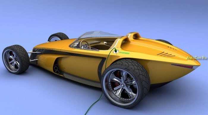 delithium concept electric car
