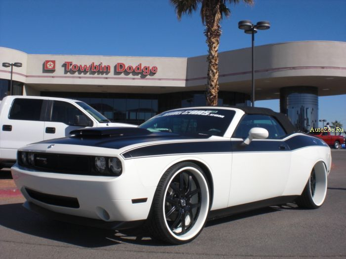 09 dodge challenger rt convertible