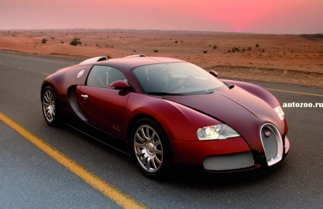 bugatti veyron final edition