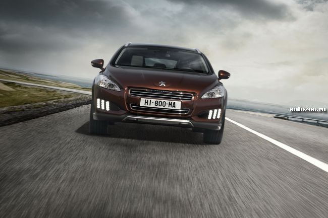 peugeot 508 rxh official