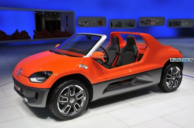 концепт vw buggy up паркетник