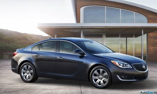 Buick Regal 2014 - аналог Opel Insignia 01