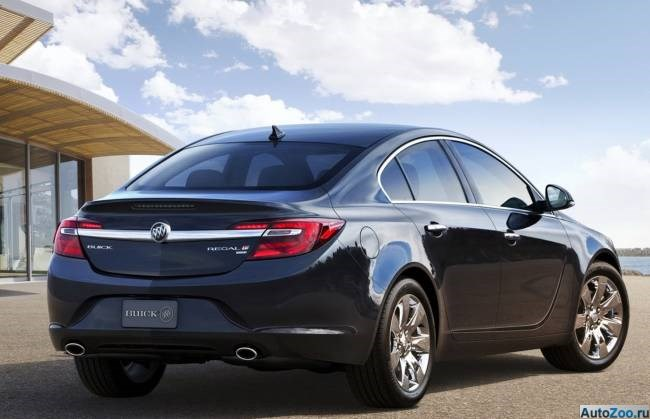 Buick Regal 2014 - аналог Opel Insignia 02