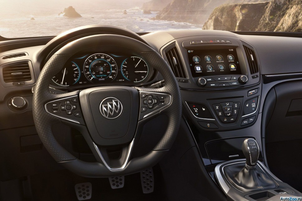 Buick Regal 2014 - аналог Opel Insignia 07