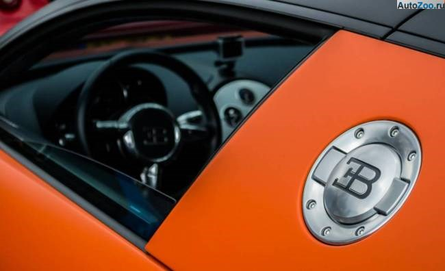 Orange Bugatti Veyron Vesenniy Event 2013 10