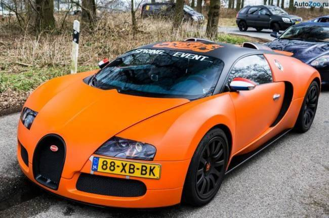 Orange Bugatti Veyron Vesenniy Event 2013 6