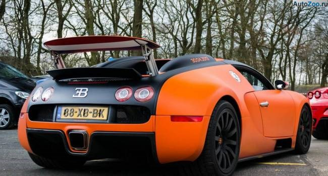 Orange Bugatti Veyron Vesenniy Event 2013 7