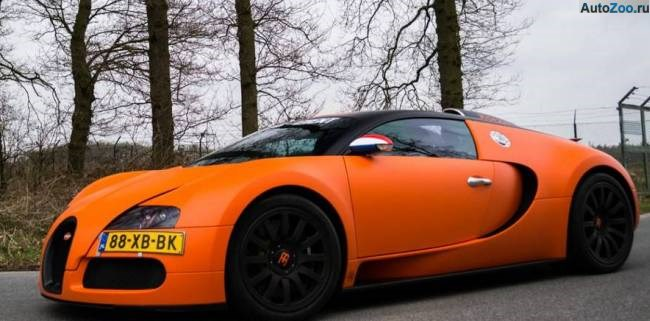 Orange Bugatti Veyron Vesenniy Event 2013 9